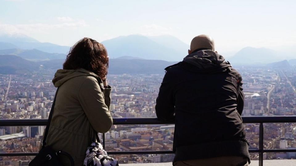 Ballade à la Bastille de Grenoble Alpes