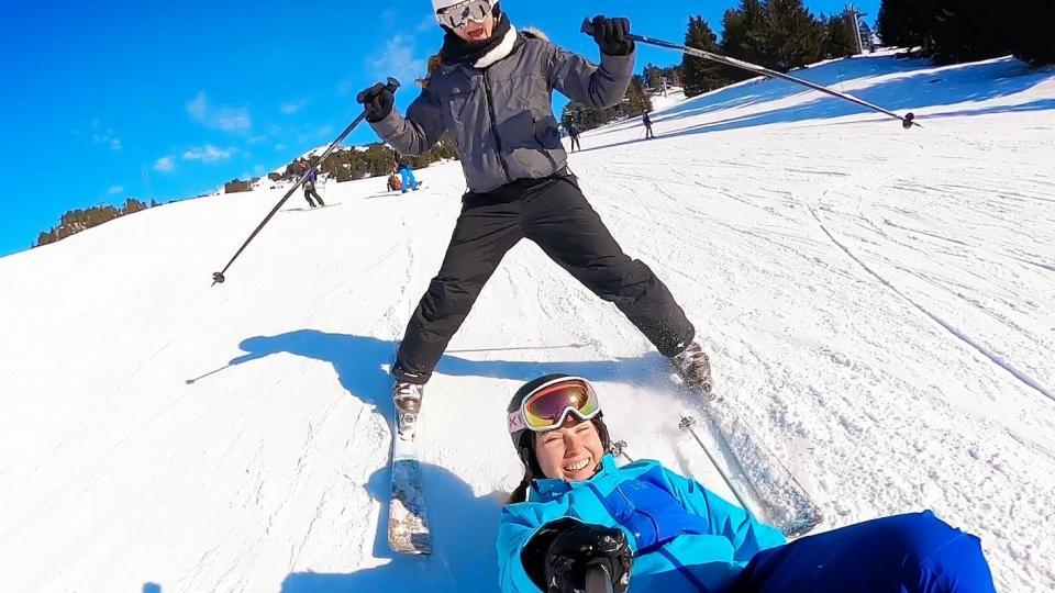 Skier à Grenoble Alpes