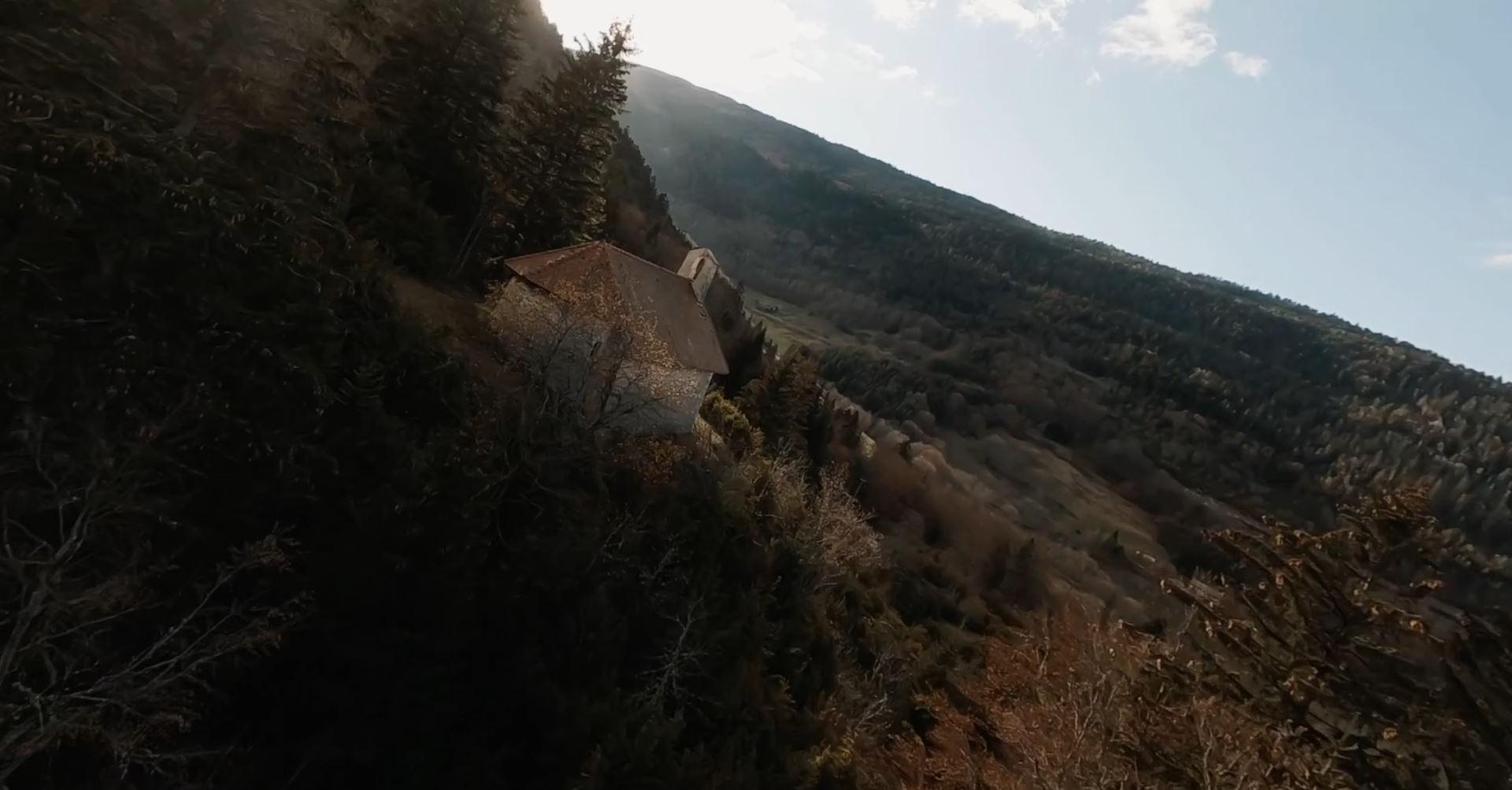 From mountain to sea FPV