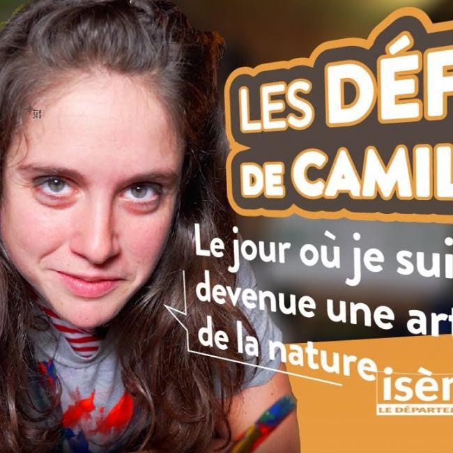 Les défis de Camille : Artiste de la nature